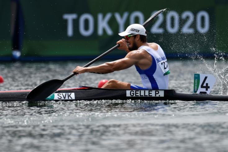 Tokió 2020 - Elődöntőbe jutott K1 1000 méteren a párkányi Gelle Péter