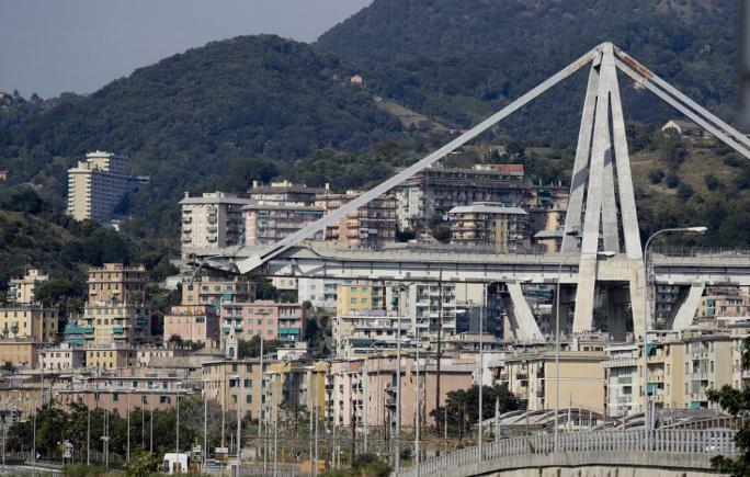 Az egy hónappal ezelőtti tragédiára emlékeztek Genovában
