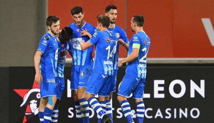 BL-selejtező –ARapid Wien felett aratott győzelemmel továbbjutott a Gent