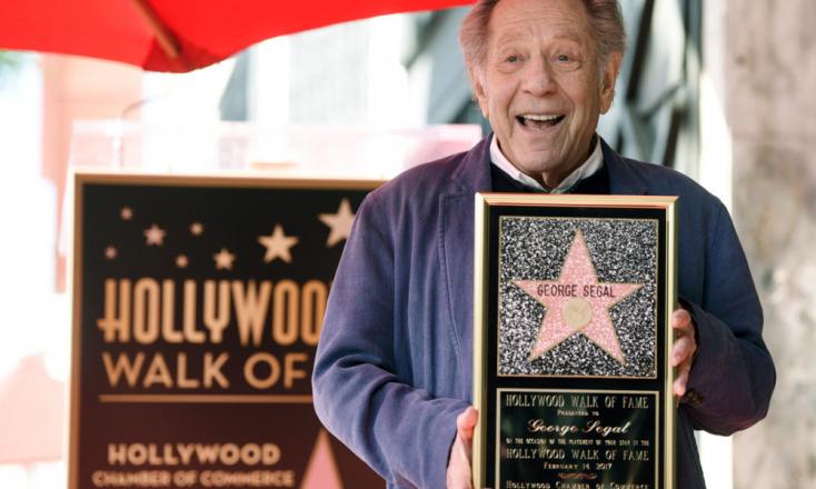 MeghaltGeorge Segal Golden Globe-díjas amerikai színész
