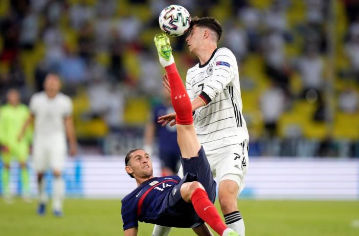 Franciaország - Németország: német góllal nyertek a franciák - Foci Eb