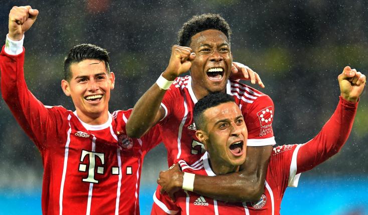 Bundesliga - Kétgólos Bayern-siker Dortmundban