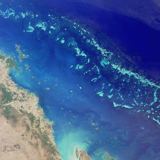 Elkészült a Nagy-korallzátony virtuális térképe