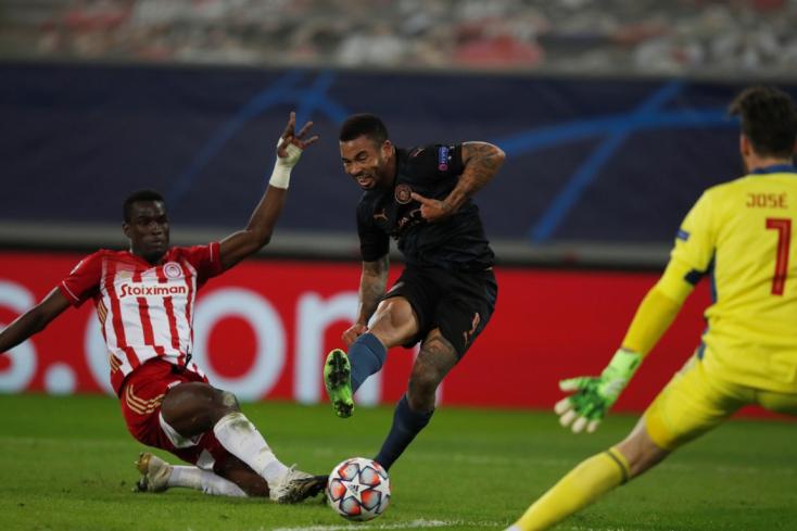 Bajnokok Ligája: Továbbjutott a Manchester City