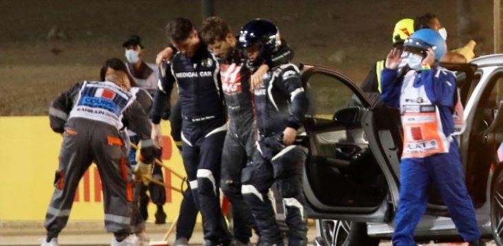 Grosjean csak szerdán hagyja el a kórházat, Abu-Dzabira készül