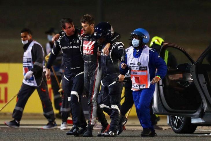 Ricciardo: Felháborító, ahogyan ismételgették Grosjean balesetét