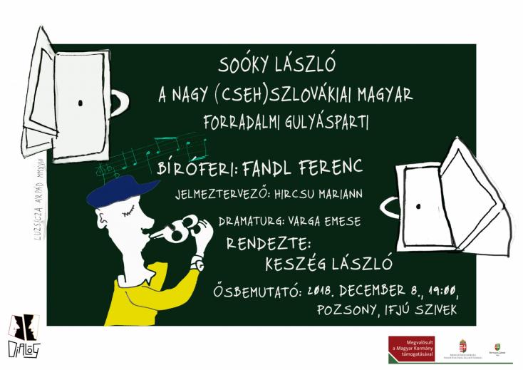 FIGYELEM: Pozsonyban lesz A nagy (cseh)szlovákiai magyar forradalmi gulyásparti!