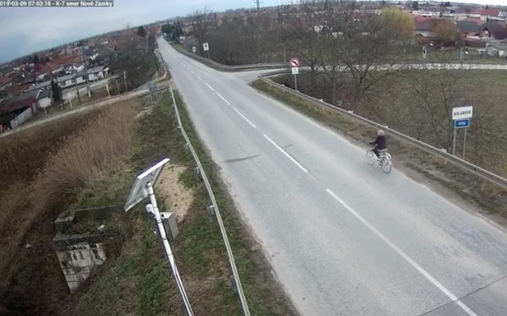 Beleszállt a rendőrség a szlovákul nem beszélő biciklis nőbe