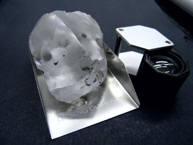 Így néz ki a világ egyik legnagyobb gyémántja