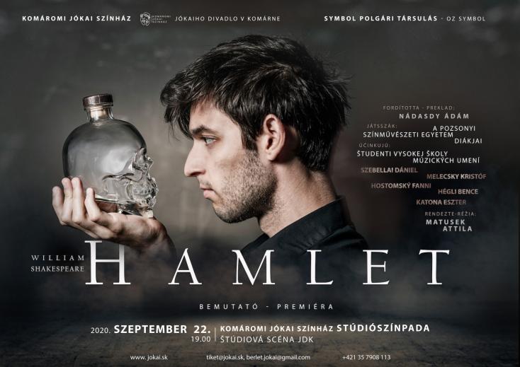 Hamlet a Benkő Géza Stúdiószínpadon