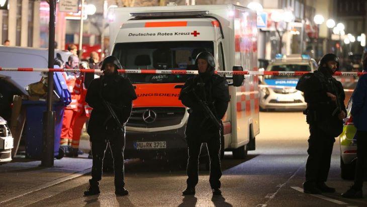 Szélsőjobboldali terrorcselekmény lehetett a németországi Hanauban történt lövöldözés