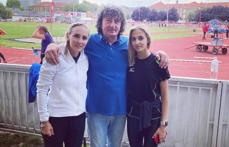 Három dunaszerdahelyi szlovák rekordhalmozó atléta randevúja Budapesten