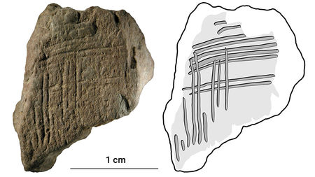 Az ember már 30 ezer éves is rajzolt hashtaget?