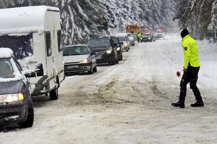 Jön a lehűlés - jövő héten több helyen is havazhat Szlovákiában!