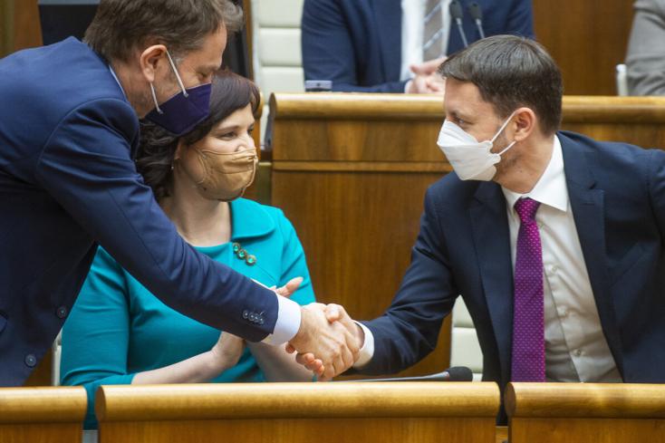 Bizalmat kapott a Heger 1.0 (vagy a Matovič 2.0) kormány, a Csemadoknak meg állami támogatást intéz a jó Gyimesi György