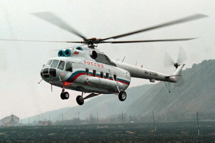 Lezuhant egy orosz katonai helikopter Moszkva közelében, senki sem élte túl