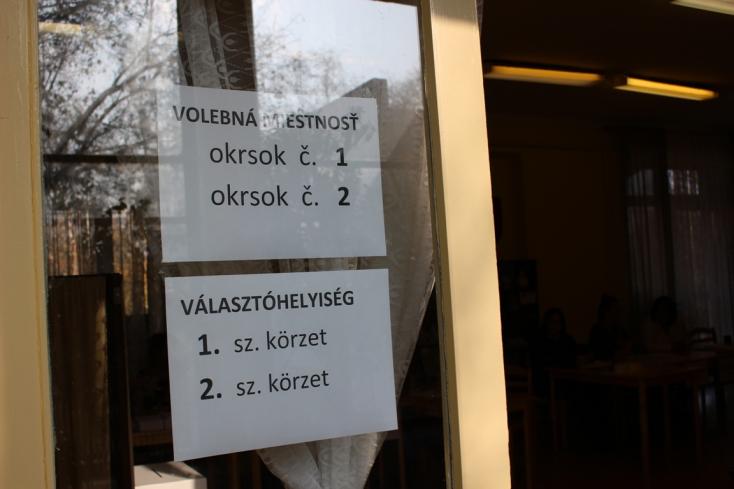 Így szavaztak a Vágsellyei járás egyes településein