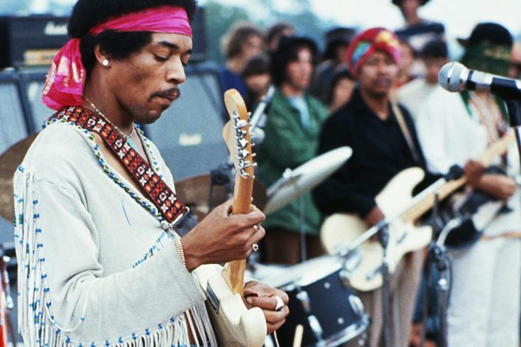 50 éve halt megJimi Hendrix,minden idők legnagyobb gitárosa