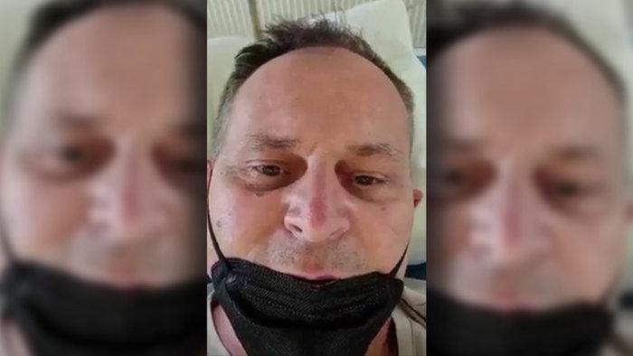 Egy koronavírusos szlovák fickó akarta lerántani a leplet a nagy covid-összeesküvésről, de felsült vele! (Videó)