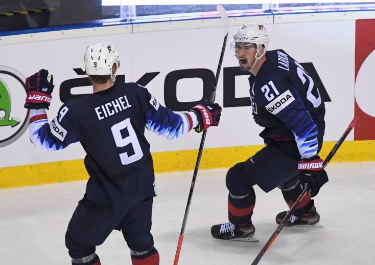 Jégkorong-vb - Hosszabbításban győzött az Egyesült Államok, kikaptak a csehek