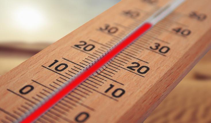 20 fokos hőmérséklet-különbség volt szerdán az országon belül!
