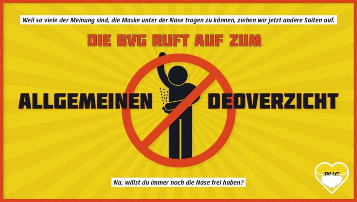 Egy kis hónaljszagot is bevetnek Berlinben, csak hogy a szájmaszk a helyén maradjon