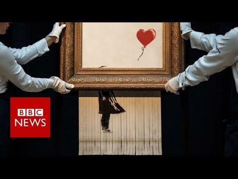 Árverésre viszik Banksy azon művét, amelyet felaprított egy aukción