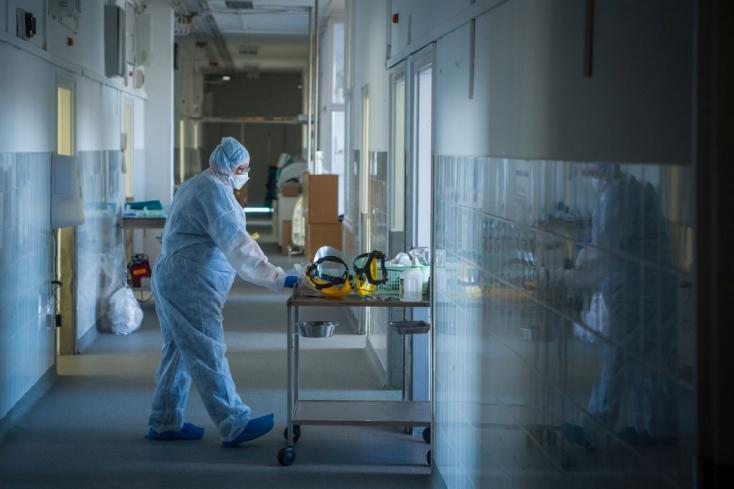 Koronavírus: 311-en haltak meg az elmúlt egy napban Magyarországon