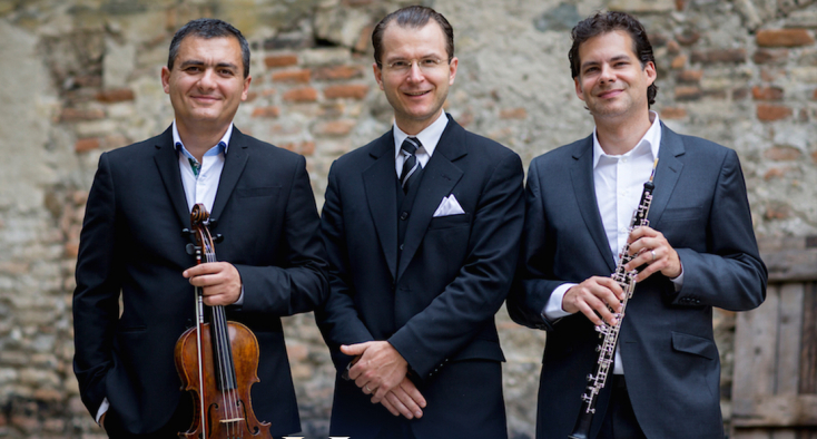 AHugo Kauder Trio koncertjei Dunaszerdahelyen, Párkányban és Komáromban