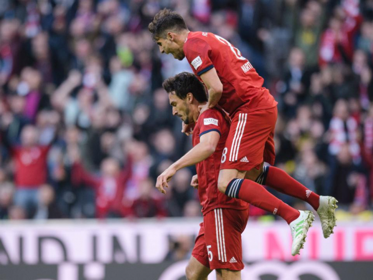 Bundesliga - Kiütéses Bayern-siker a rangadón