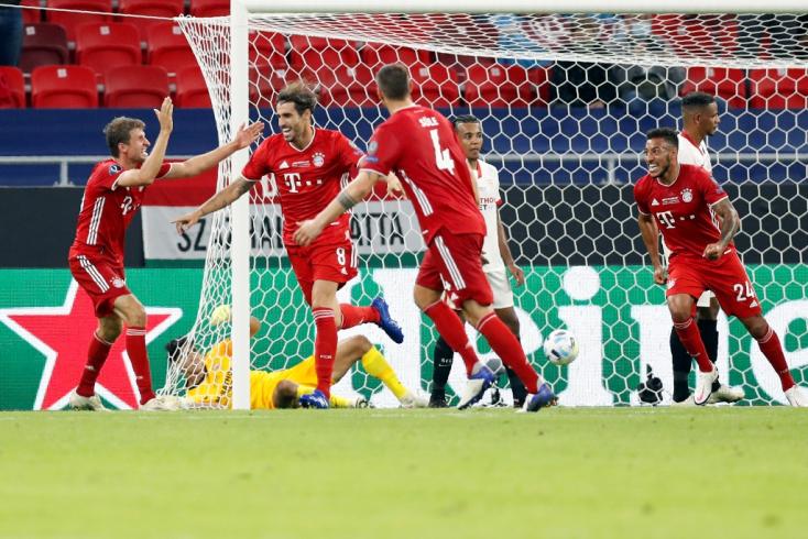 A Bayern München rekordot döntött Szuperkupa-győzelmével