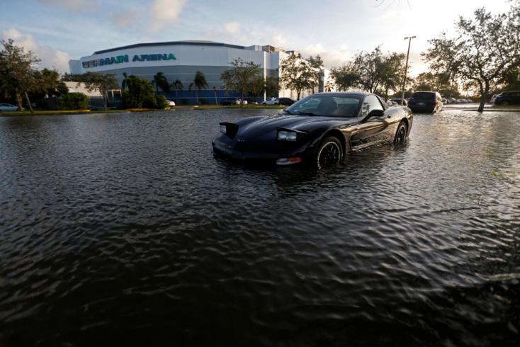 Mérséklődött, de még messze nem szelíd Irma