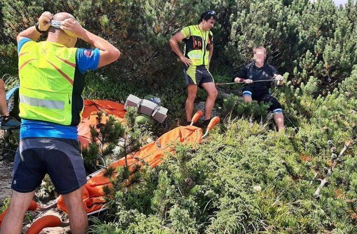 A Magas-Tátrában túrázott a 67 éves férfi, balesete után a hegyimentők már nem tudták megmenteni
