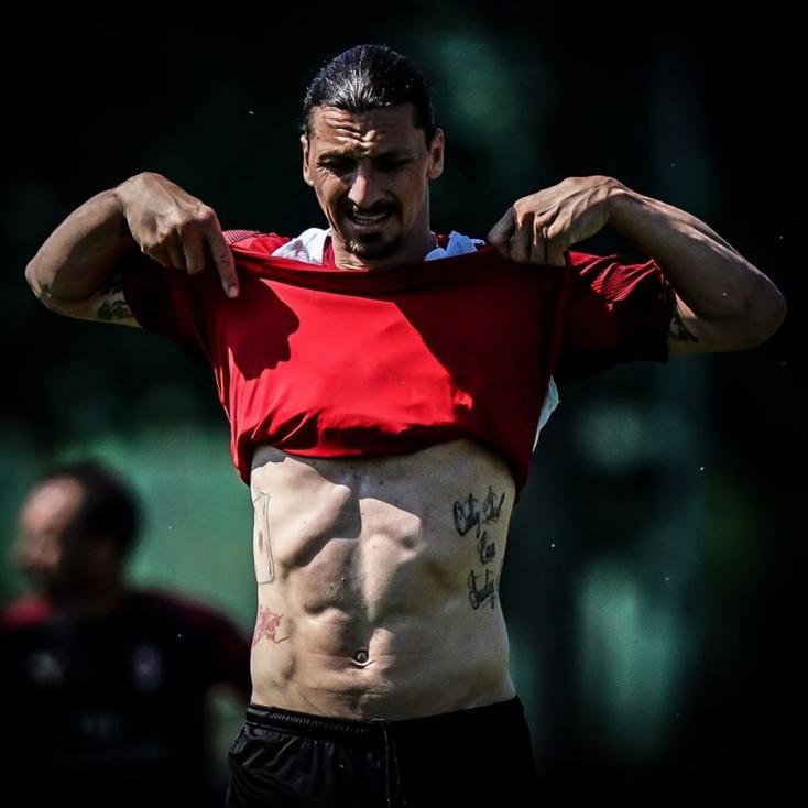 """""""Éhes oroszlánként"""" tért vissza Zlatan Ibrahimović"""