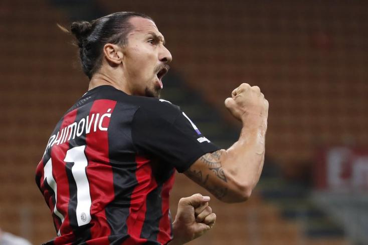 Ibrahimovic szerződést hosszabbított az AC Milannal