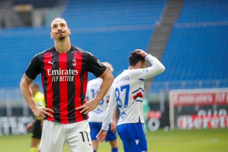 Serie A - Ibrahimovic kiállítása ellenére nyert a Milan