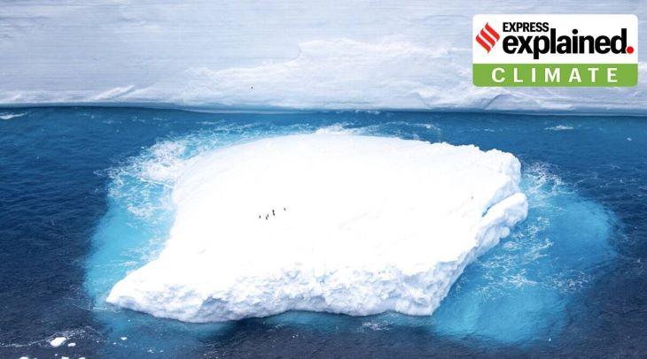 Robotokkal vizsgálják a darabokra tört óriási jéghegy környezeti hatását