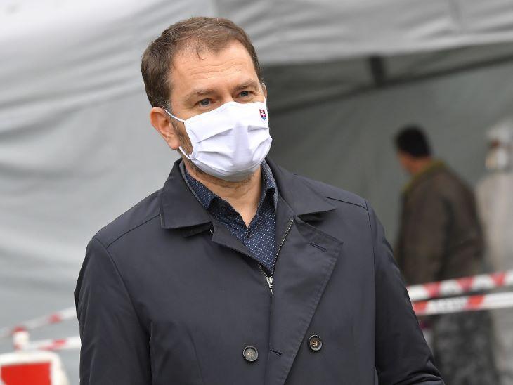 Matovič üzent a negatív koronavírus-teszttel rendelkezőknek