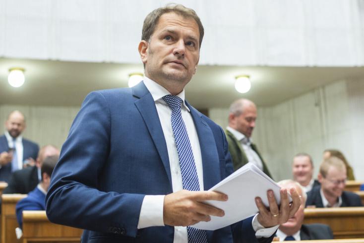 Matovič: Meg kell vizsgálni, lehet-e enyhíteni a járványügyi intézkedéseket