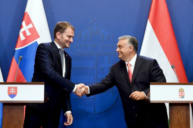 """Orbán Viktorral tárgyalt Igor Matovič Budapesten - bevezetést kapott a """"magyar néplélekbe"""""""