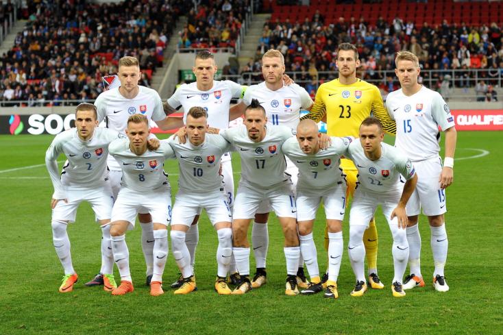 A szlovák válogatott szinte minden esélyét elvesztette a vb-szereplésre