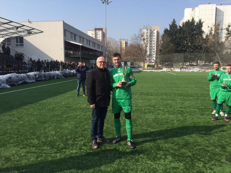 Az illésházaiak második diadala a Pozsonyi Futballszövetség téli kupájának döntőjében