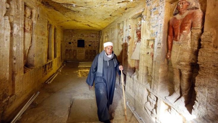 Az év legszebb ókori sírját tárták fel Egyiptomban