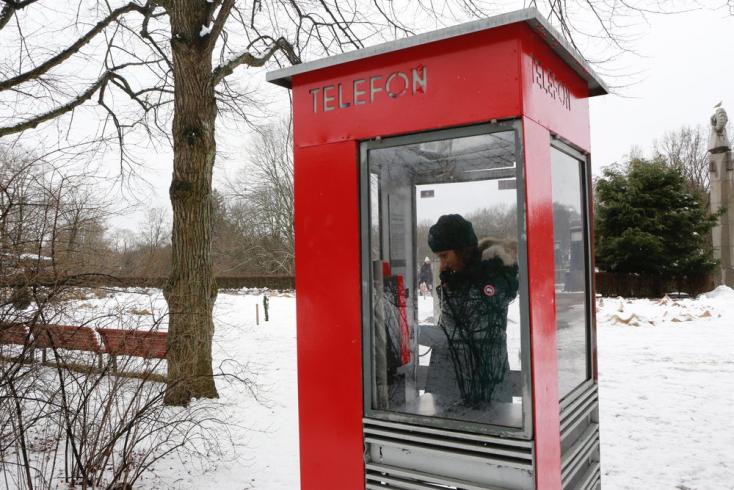 Olvasófülkékké alakítják az idejétmúlt telefonfülkéket Norvégiában