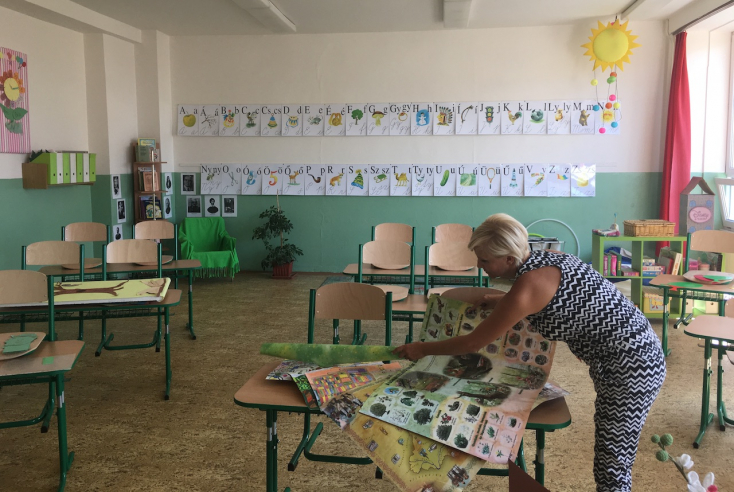 A nagymegyeri termálfürdő is támogatta a Bartók Béla Alapiskolát