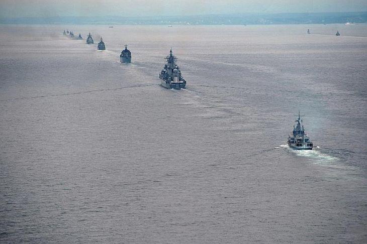 A szovjet idők óta példátlan orosz flottagyakorlat kezdődött a Csendes-óceánon
