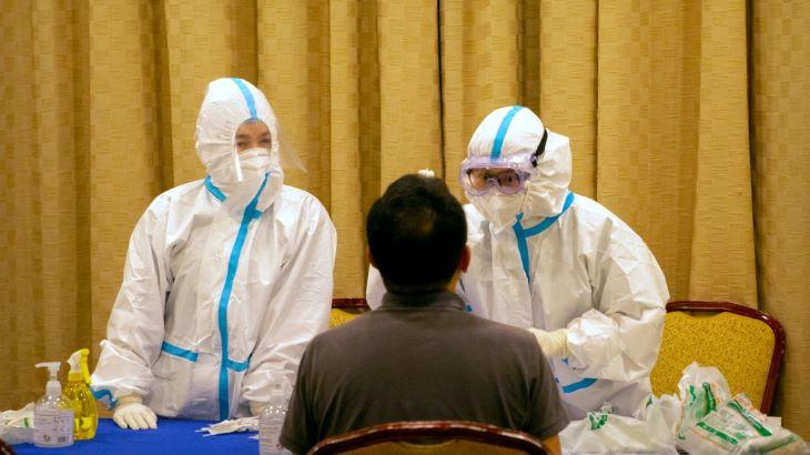 Hónapok után újra megjelent Pekingben a koronavírus-fertőzés