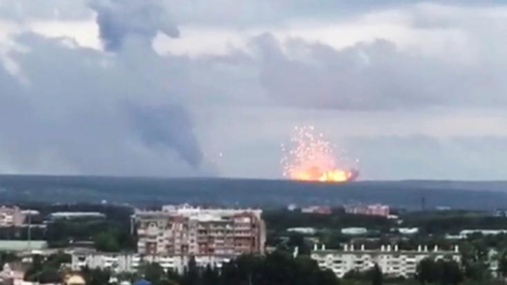 A gammasugárzás szintje a normális 4-16-szorosára nőtt az észak-oroszországi fegyverkísérlet-baleset idején