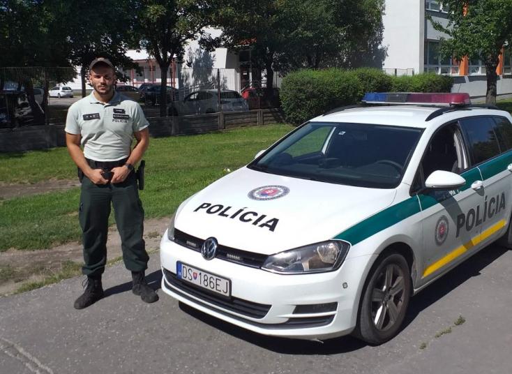 Súlyos állapotban lévő férfit mentett meg a dunaszerdahelyi rendőr