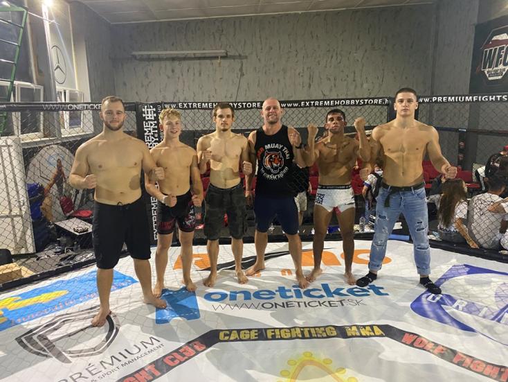 Ötből öt! Taroltak a komáromi WFC-s ketrecharcosok a hétvégi szlovák bajnokságon
